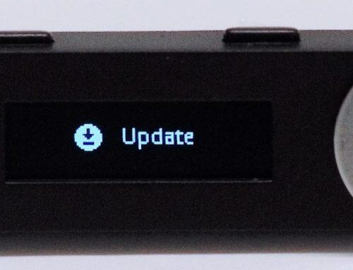 ขั้นตอนการอัพเดทเฟิร์มแวร์ Ledger 1.4