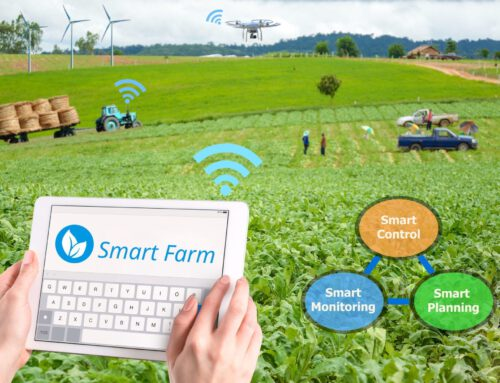 ตัวอย่างการใช้เทคโนโลยี IoT ในยุคเกษตร 4.0